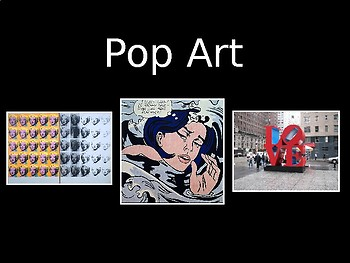 POP ART- 39 Slide PowerPoint