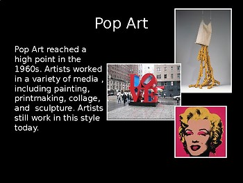 POP ART- 39 Slide PowerPoint