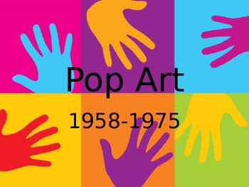 POP ART HEARTS POWERPOINT