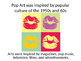 POP ART HEARTS POWERPOINT