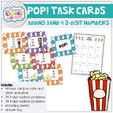 POP! Adding Up to Four Digits Card Game (Addition)