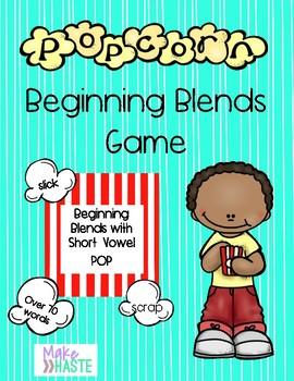 POP!  Beginning Blends with short vowels