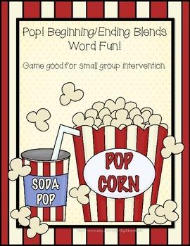 POP! Blends Word Game