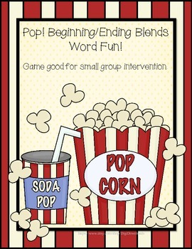 POP! Blends Word Game