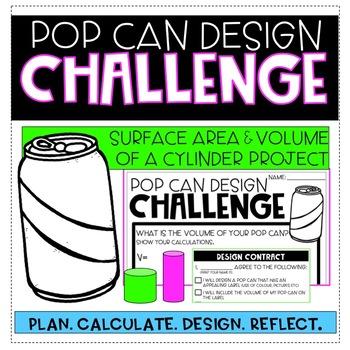 POP CAN DESIGN CHALLENGE
