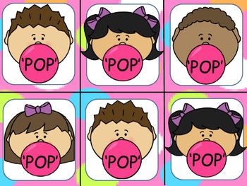 'POP' CVC Word Games