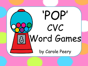 'POP' CVC Word Games