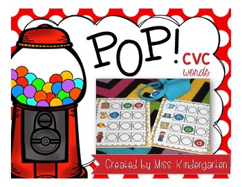 POP! {CVC words game}