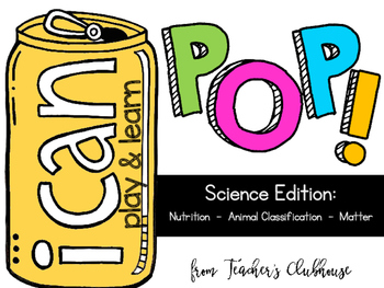 POP! Game {I Can:  Science Edition}