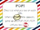 POP! Morning Meeting Game & Flashcard Review: EDITABLE