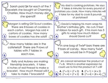 POP! Multiplication Facts-challenging (3rd Grade)