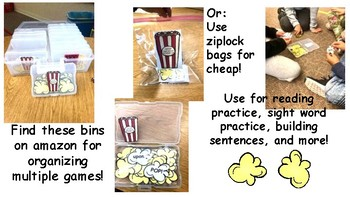 POP POP Sight Words- Dolch 2nd Grade List