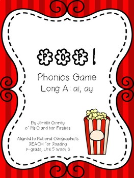 POP! Phonics Skills: Long A: ai & ay