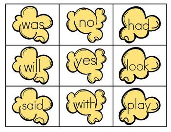POP Sight Word Game