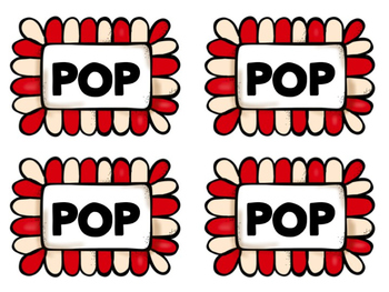 POP! Sight Word Game (Dolch Pre-Primer)