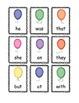 POP Sight Word Game (Primer / Kinder)