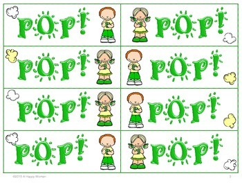POP! Subtraction Facts (2nd Grade)