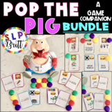 POP THE PIG - GAME COMPANION, BUNDLE (ARTICULATION & LANGUAGE) SPEECH THERAPY