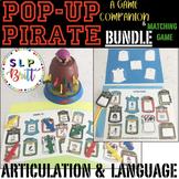POP-UP PIRATE, GAME COMPANION & MATCHING GAME, BUNDLE (LANGUAGE & ARTICULATION)