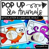 POP UP Sea Animals: Speech and Language Craft