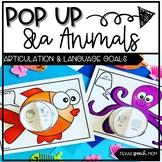 Pop-Up Speech and Language Sea Ocean Animal Craft