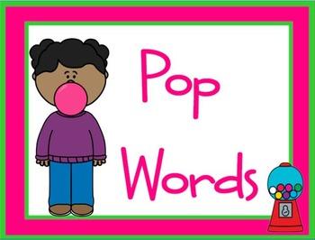 POP Words