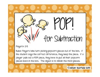 POP for Subtraction