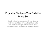 POP into the New Year Bulletin Board Set