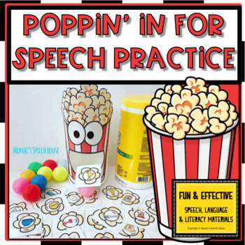 POPCORN ARTIC FEEDING MOUTH SPEECH THERAPY