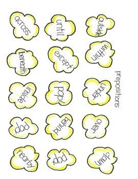 POPCORN!  Language Arts (part 1)