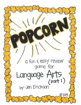 POPCORN!  Language Arts (part 1)
