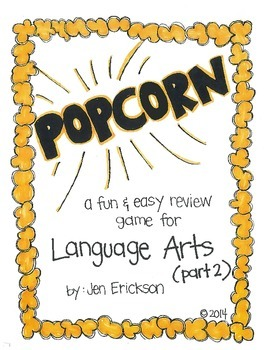 POPCORN!  Language Arts (part 2)