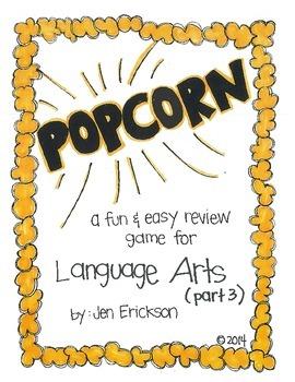 POPCORN!  Language Arts (part 3)