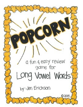 POPCORN!  Long Vowel Words