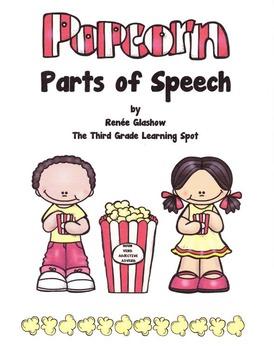 POPCORN PARTS OF SPEECH