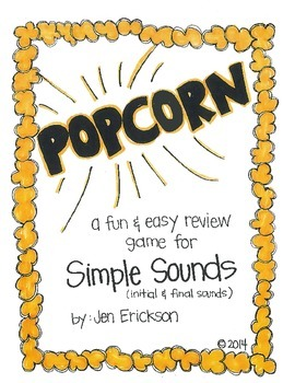 POPCORN!  Simple Sounds