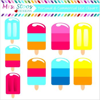 POPSICLE CLIP ART DOLLAR DEAL!