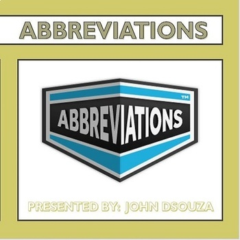 POPULAR ABBREVIATIONS: PRESENTATION