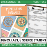 POPULATION DYNAMICS - Life Science Demos, Labs and Science Stations