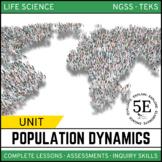 POPULATION DYNAMICS UNIT - 5E Model