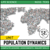 POPULATION DYNAMICS UNIT - 5E Model