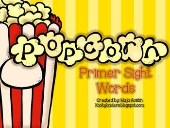 POPcorn Words Primer
