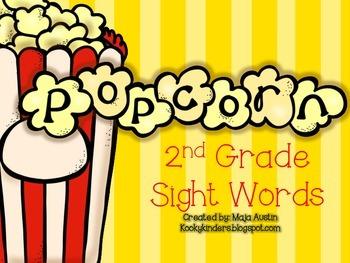 POPcorn Words Second Grade