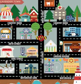 POR LA CIUDAD - AROUND TOWN - Giving Directions