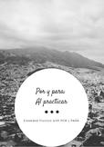 Practice with Por y Para