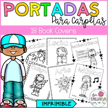 PORTADAS PARA CARPETAS/ BOOK COVERS IN SPANISH