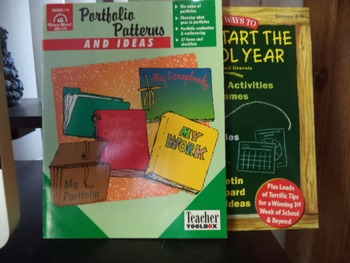 PORTFOLIO PATTERNS  IDEAS GREAT ACT. GAMES  (set of 2)