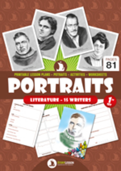 PORTRAITS (literature – 15 writers)