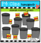 POSITION WORDS Recycle BUNDLE (P4 Clips Trioriginals)