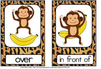 POSITIONAL FLASH CARDS